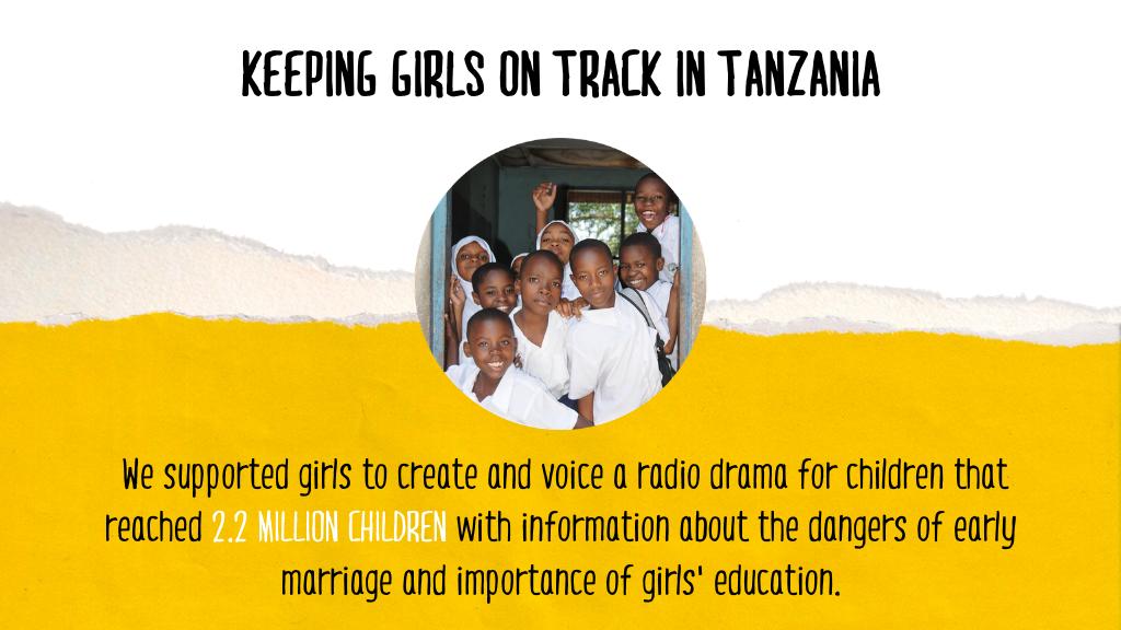 COVID-19 Successes Page  - Tanzania