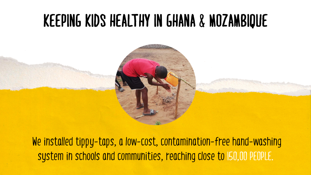 COVID-19 Successes Page - Ghana and Mozambique