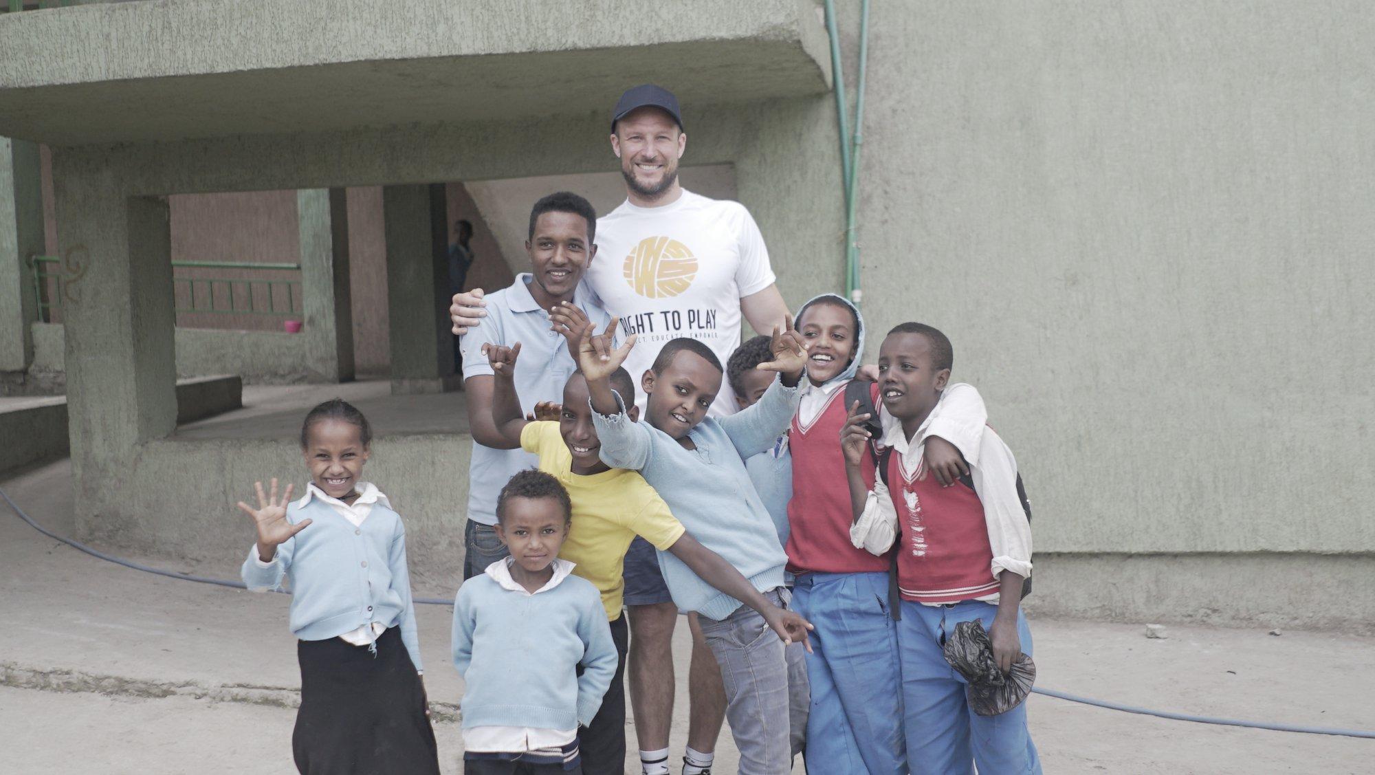 Aksel Lund Svindal in Ethiopia