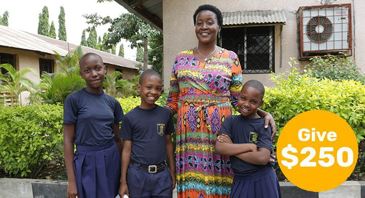 $250 can train a teacher to transform the lives of girls facing adversity