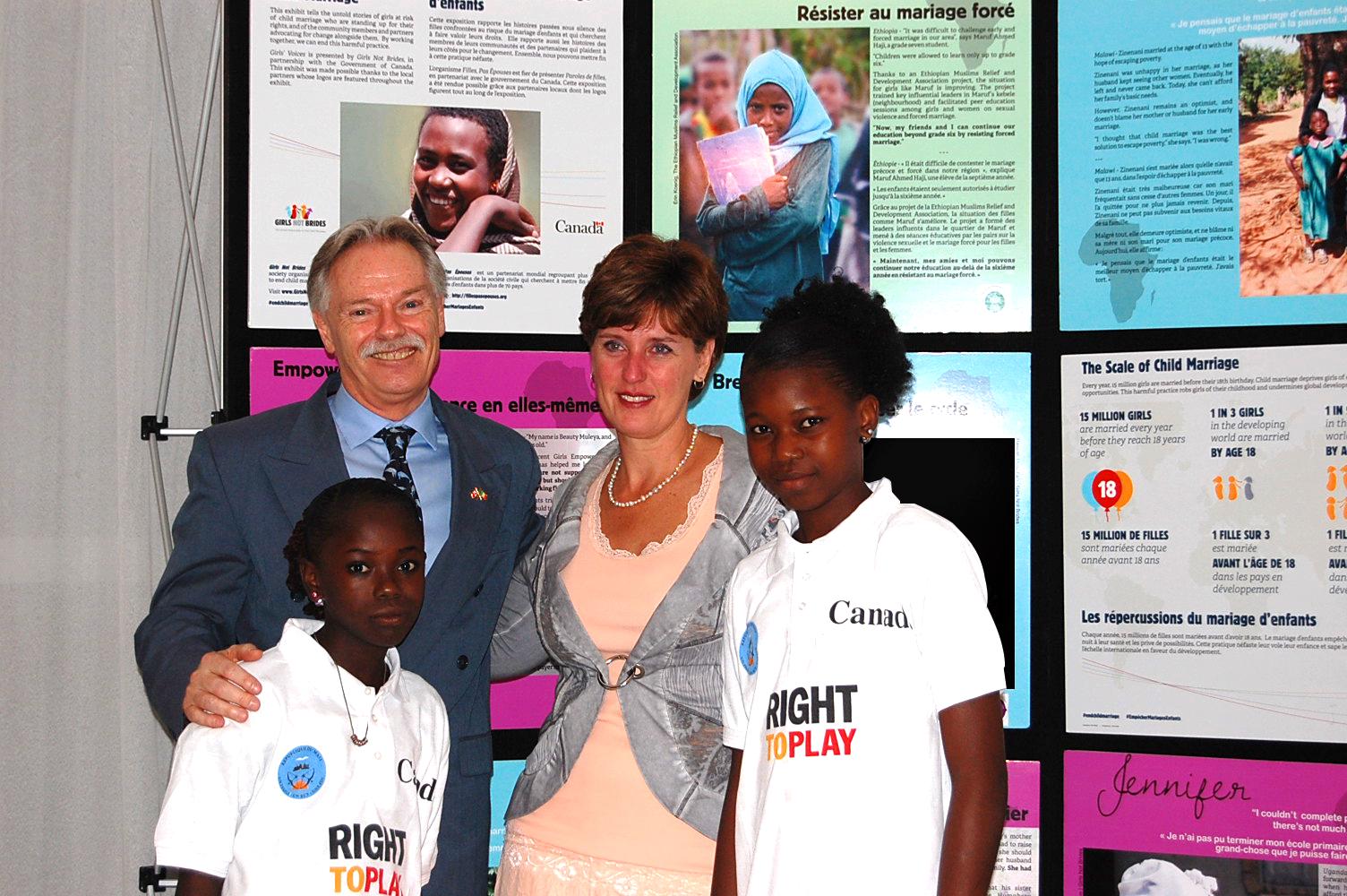 Minister Bibeau & Canadian Ambassador