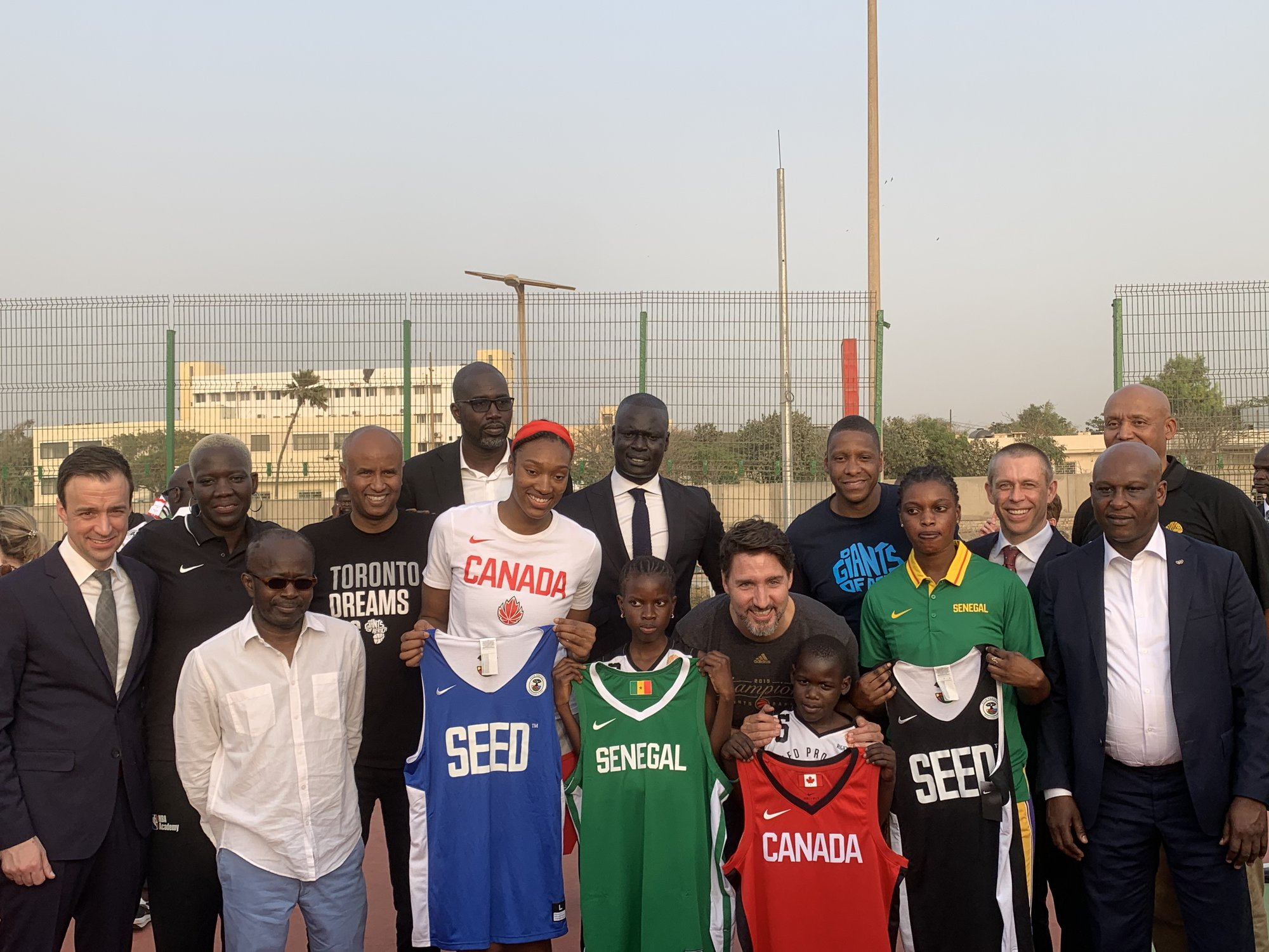 Justin Trudeau in Senegal