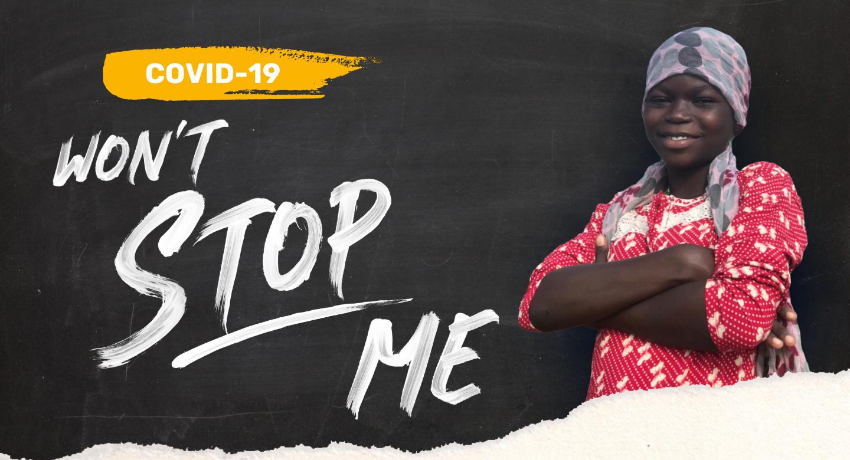 Irene - Ghana - COVID-19 Won't Stop Me - Image 1 - Web Banner