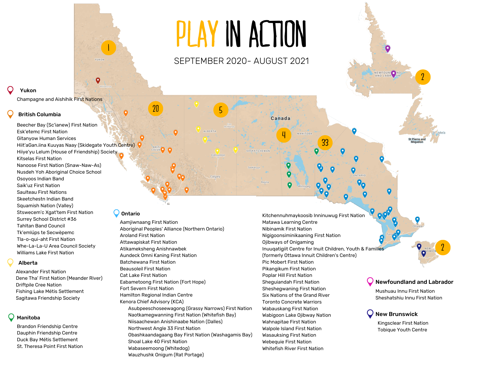 PLAY National Map 2020-21