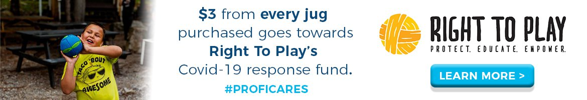 #PROFICares Cause Marketing Supports COVID Relief Fund for Right To Play Indigenous Youth Programming