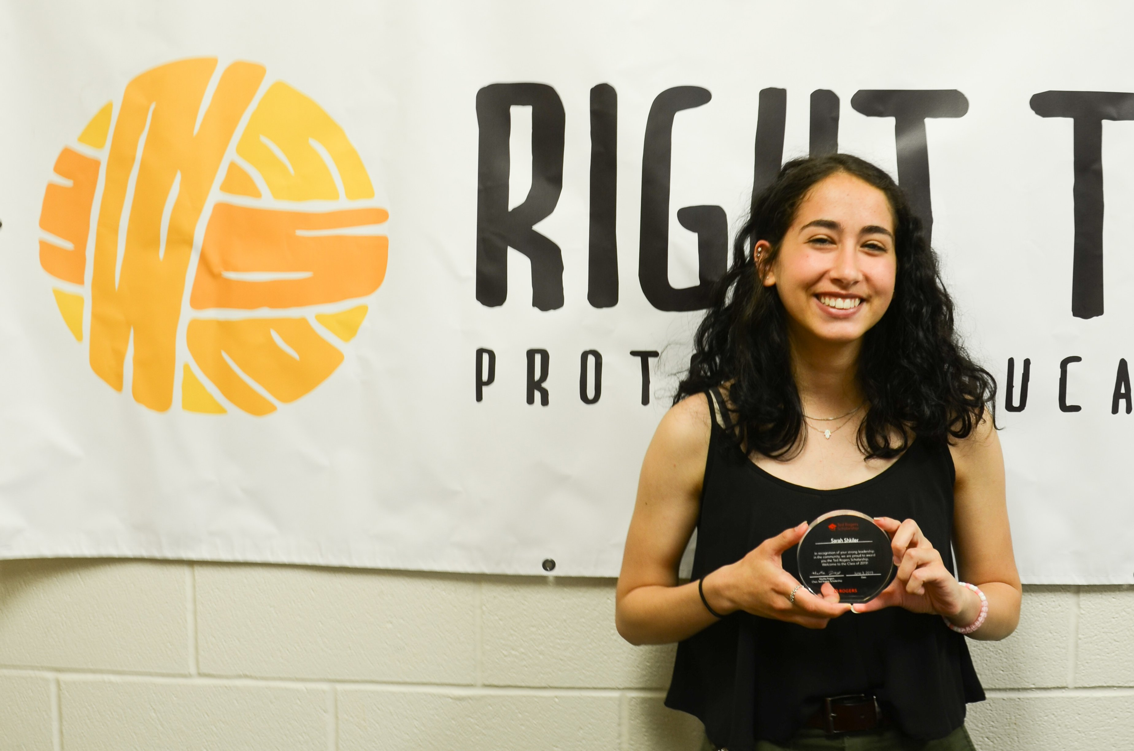 Sarah3 - Ted Rogers Award Recipient