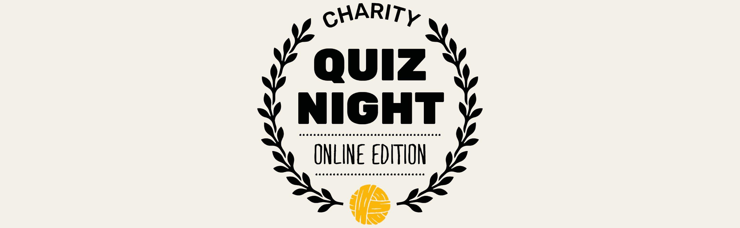Quiz Night online logo banner