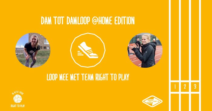 Dam tot damloop home edition