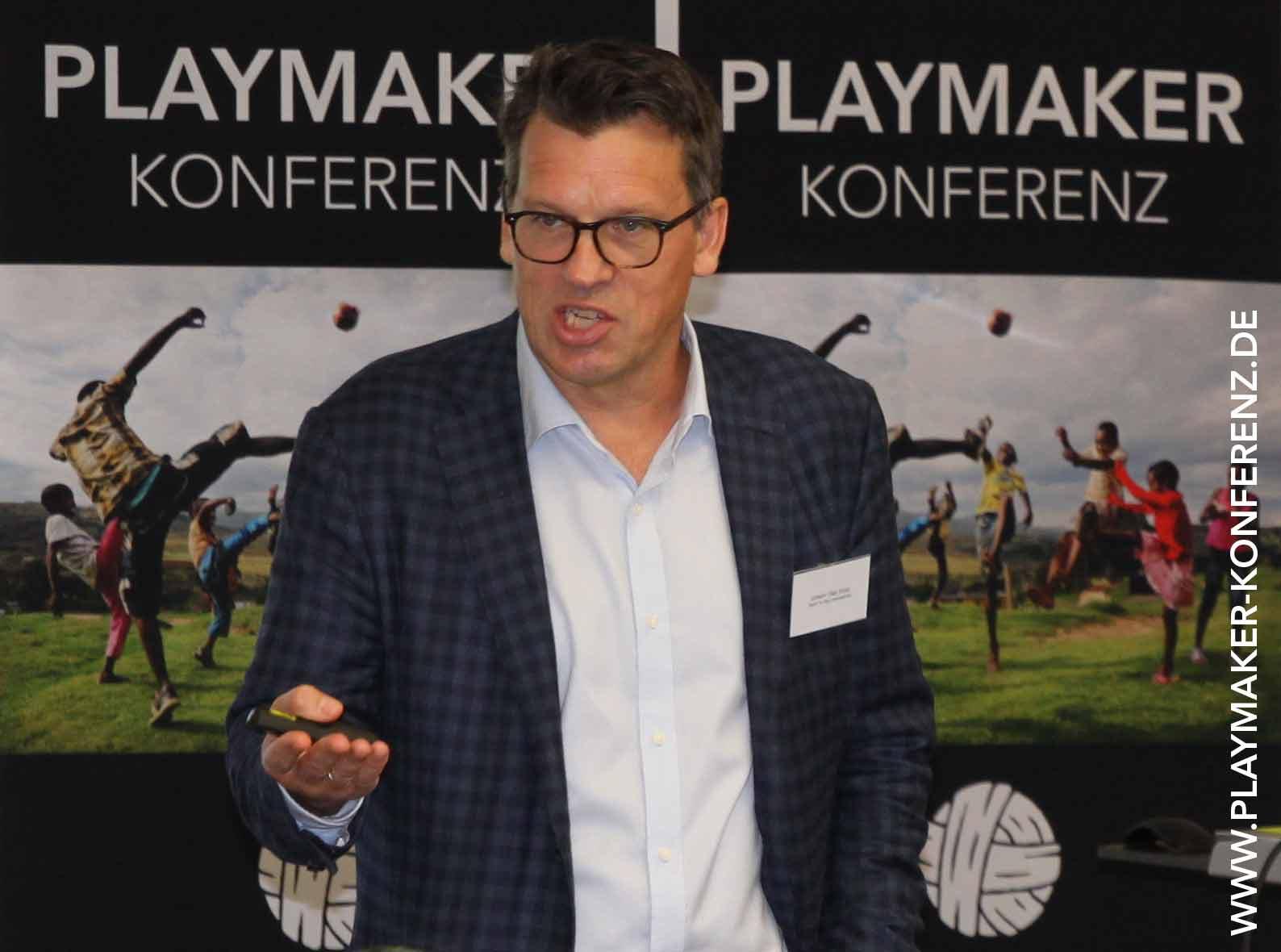 Johann Koss Playmaker